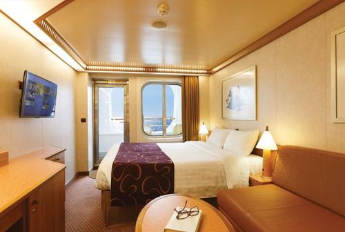 Cabine extérieure avec balcon - Costa Mediterranea
